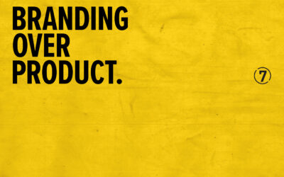 Building a Movement Branding Over Product