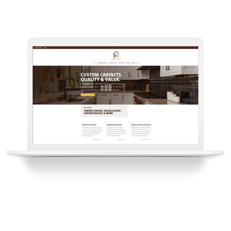 Access Cabinets Santa Clarita Web Design