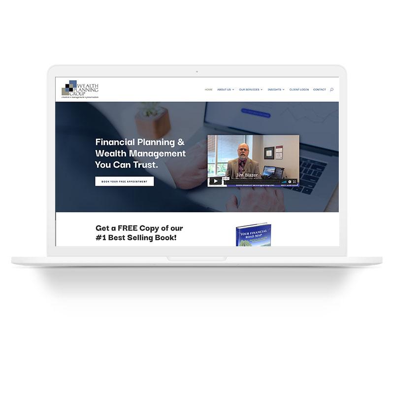 Wealth Planning Group Santa Clarita Web Design