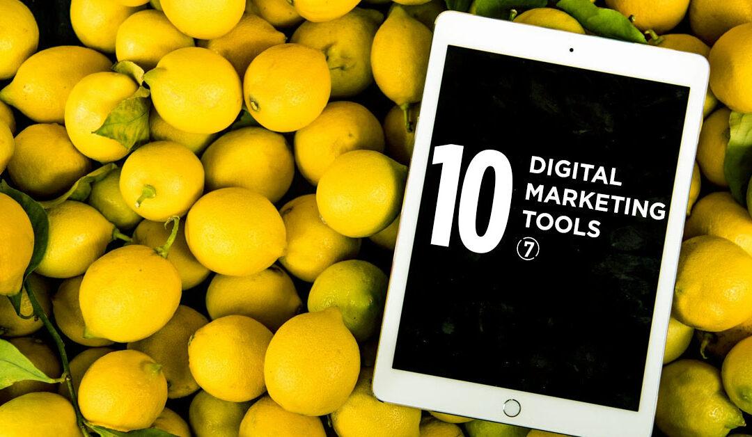 10 Digital Marketing Tools