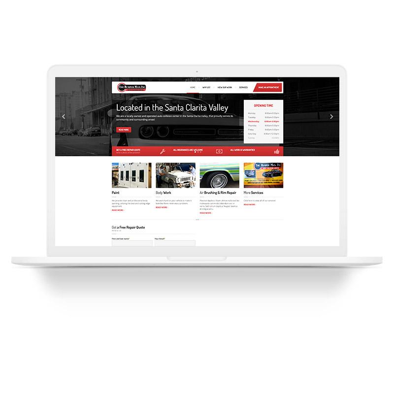 Surface Busters Santa Clarita Web Design