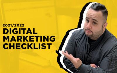 2021 and 2022 Digital Marketing Checklist